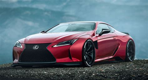 Lexus Lc500 Gets A Supercar Styling Overhaul