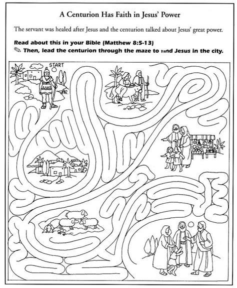 jesus heal centurion s servant coloring 백부장의 아들 고치심 535 | b870703eee30d745d6752a4eb63a0f48