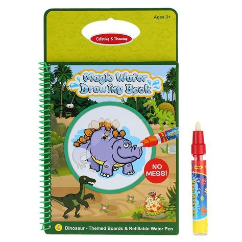 magic water drawing book coloring book doodle dinosaur