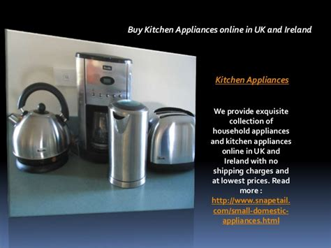 Buy Kitchen Appliances Online In Uk And Ireland