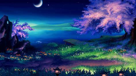 beautiful fantasy night desktop pc  mac wallpaper