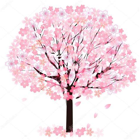 foto de Flor de cerejeira Vetor de Stock © JBOY24 #62661313