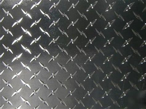 diamond plate plastic sticker decal sheet
