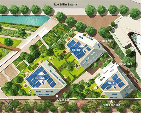 canape designer plan de masse de l 39 éco quartier rungis 13ème