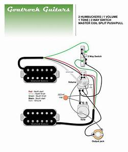 Goatrock Guitars Wiring Diagram 2 Humbucker