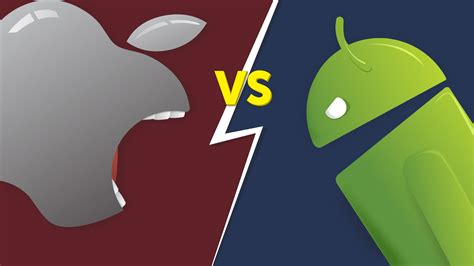 iphone vs android android vs ios decade war for mobile dominance