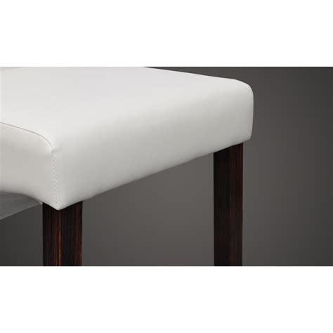 chaise cuir blanc la boutique en ligne chaise antique simili cuir blanc lot