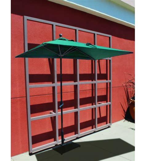 half wall commercial patio umbrella umbrella