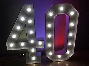 Light up letters giant light up letters hire for Hollywood light up letters