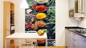 Fototapete Für Küche : k chen tapeten fototapeten f r die k che wall ~ Michelbontemps.com Haus und Dekorationen
