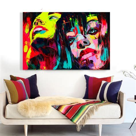 est people abstract oil painting hand painted oil painting