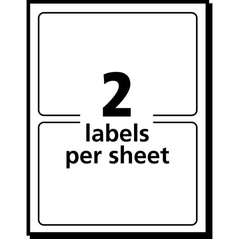 Label Template 80 Per Sheet by Avery Return Address Labels 80 Per Sheet Template