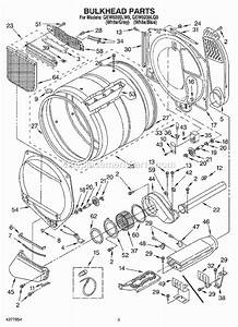 Whirlpool Gew9200lw0 Parts List And Diagram