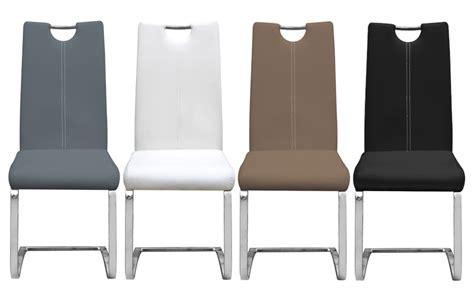 lot de chaise pas cher chaise en mtal et pu design erina