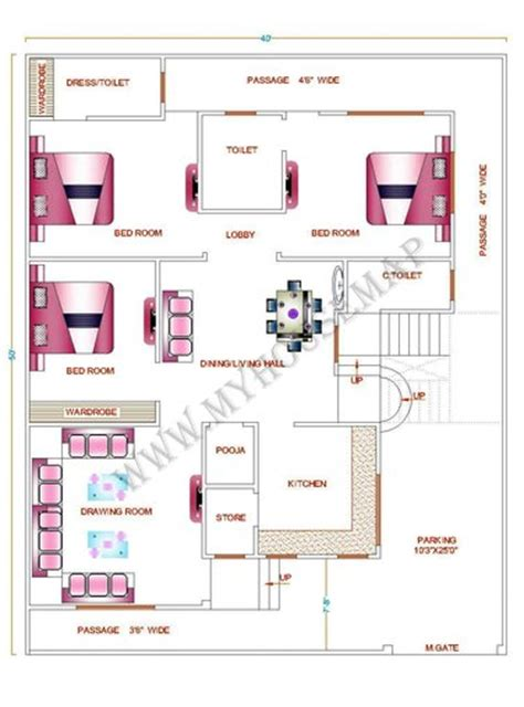 simple two house plans house map front elevation design house map building design