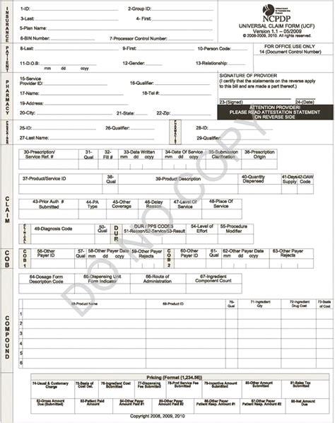 ucf claim form instructions
