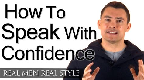 How To Speak With Confidence  Speaking With Class  How To Speak Well & Confidently Talking