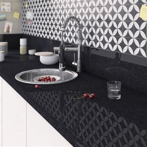 plan de travail pour cuisine leroy merlin plan de travail stratifié effet marbre noir brillant l 300 x p 65 cm ep 38 mm leroy merlin