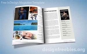 free exclusive indesign magazine template v2 designfreebies With adobe indesign magazine template download free