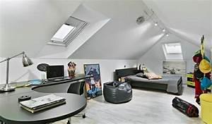 Jugendzimmer Dachschräge Einrichten : schlafzimmer dachschr ge 33 ideen f r den schlafbereich auf dem dach ~ Frokenaadalensverden.com Haus und Dekorationen