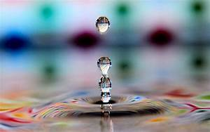 Water, Drops, Cool