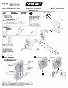 Schlage Door Be365 User U0026 39 S Guide