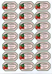 Mes étiquettes Gratuites à Imprimer : confiture de fraises imprimer etiquettes de confiture ~ Nature-et-papiers.com Idées de Décoration