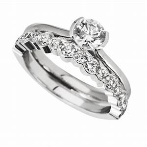 The matching wedding rings wedding ideas and wedding for Wedding ring engagement ring set