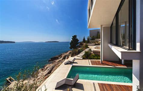 Haus In Kroatien Mieten Am Meer Mit Hund by Ferienvilla Kroatien Am Meer Mit Pool Luxusurlaub Bei