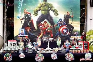 Kara's Party Ideas Avengers Birthday Party Kara's Party