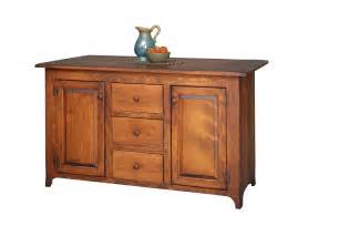 kitchen furniture island amish handcrafted bobby 39 s rule kitchen island primitive furniture