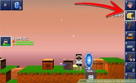 how to plant trees in blockheads how to farm apples in the blockheads 10 steps with pictures