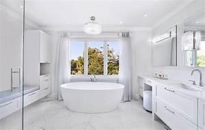Salle De Bain Haut De Gamme : r novation d 39 une salle de bain haut de gamme bain autoportant ~ Farleysfitness.com Idées de Décoration