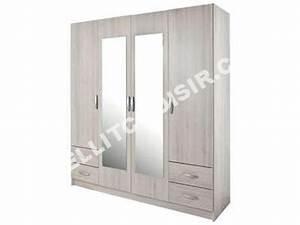 Lit Armoire Conforama : armoire de chambre conforama ~ Teatrodelosmanantiales.com Idées de Décoration