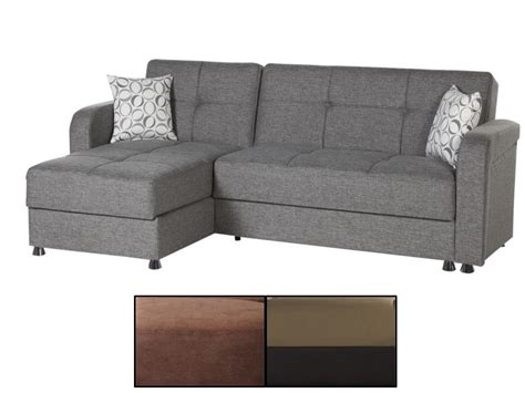 loft frame vision sectional convertible sofa bed by istikbal