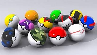 Pokeballs Wallpapers Deviantart Pokemon Ball 3d Raras