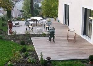 Bois Pour Terrasse Extérieure : amenagement terrasse bois exterieur images ~ Dailycaller-alerts.com Idées de Décoration