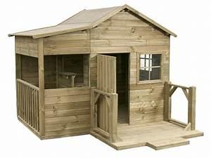 Cabane En Bois Pour Enfant : cabane de jardin enfant en bois ~ Dailycaller-alerts.com Idées de Décoration
