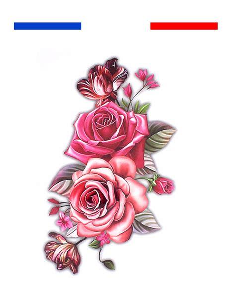 tatouage temporaire roses mon petit tatouage temporaire