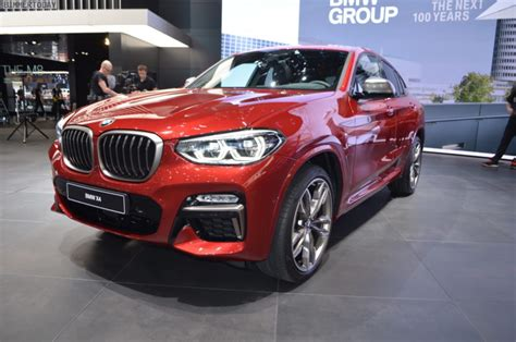 geneva motor show  bmw   flamenco red