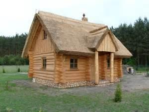 ferienhaus gartensauna gartenpavillon reetdaecher  poland