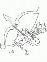 Quiver Flecha Atirada Tudodesenhos Arcos Alvo Getcolorings sketch template