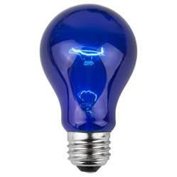 e26 and sign bulbs a19 transparent blue 25 watt replacement bulbs
