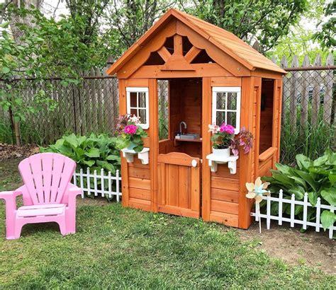 backyard discovery timberlake cedar wooden playhouse backyard discovery timberlake all cedar wood