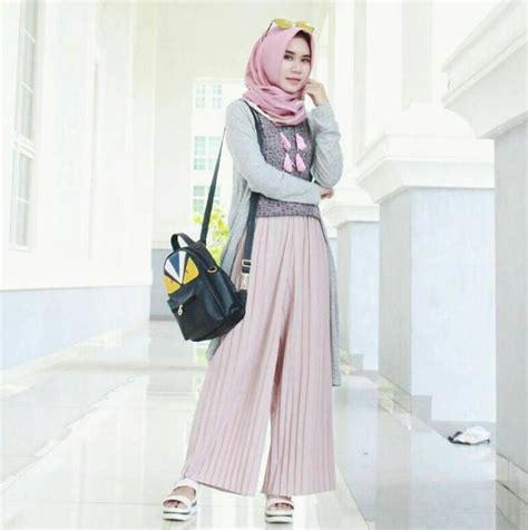 model baju muslim wanita modern terbaru