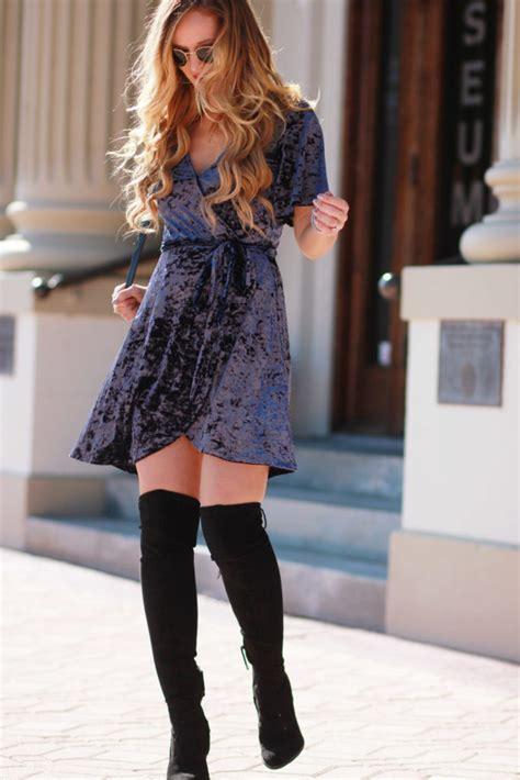 Holiday Velvet Dress   Upbeat Soles   Orlando Florida Fashion Blog