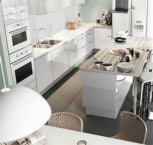 Ilot Centrale Pas Cher : plan de travail de cuisine pas cher 8 une cuisine avec ~ Dailycaller-alerts.com Idées de Décoration