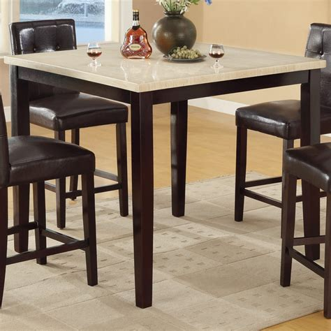 bobkona counter height table in slate top