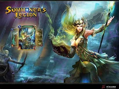 Legion Summoner Wallpapers Summoners Background Backgrounds Wall