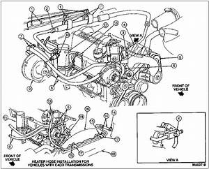 2001 Ford F150 Heater Hose Diagram